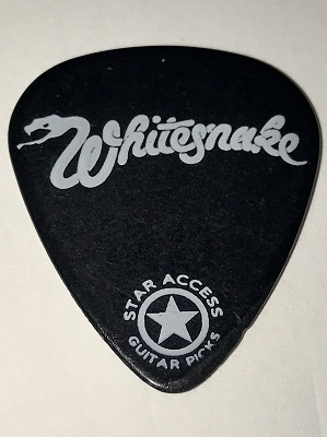 Whitesnake Guitar Pick *Very Rare