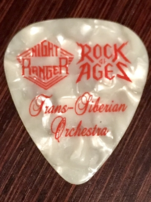 Trio Band Guitar Pick *Very rare