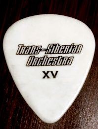 Trans Siberian Orchestra 15th Anniversary Tour Guitar Pick