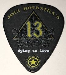 Dying to Live 13 Guitar Pick