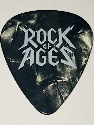 Rock of Ages Guitar Pick