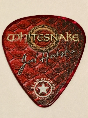 Whitesnake Flesh & Blood Guitar Pick