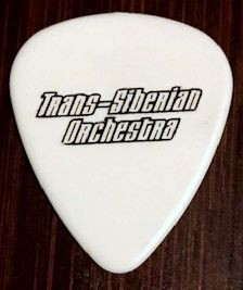 Trans Siberian Orchestra 2014 Tour Guitar Pick